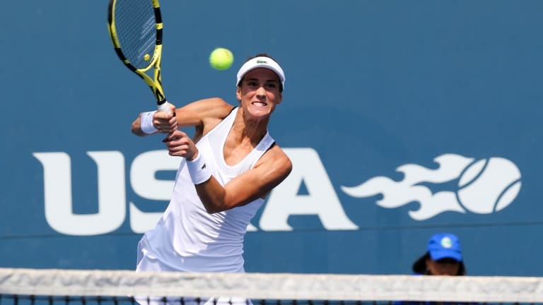 Bernarda Pera tops Barbora Strycova in three sets to win Bronx battle