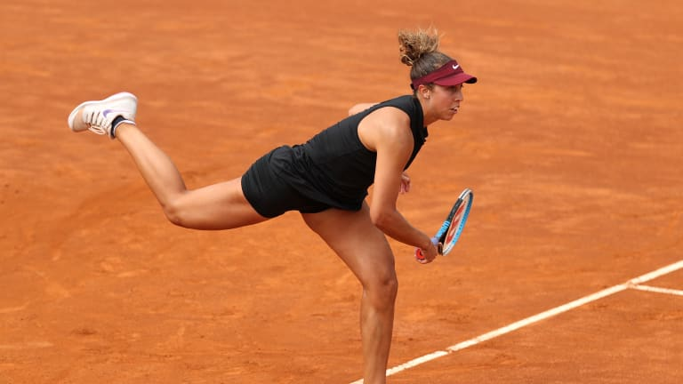 In a Rome clash full of shifts, Madison Keys topples Sloane Stephens