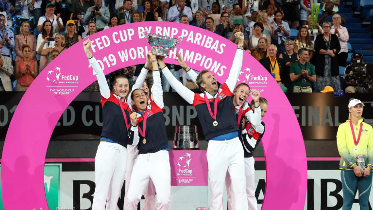 Down to the deciding rubber, France edges Australia for Fed Cup title