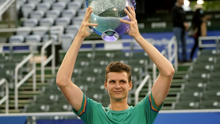 Hurkacz denies Korda to capture second ATP title at Delray Beach Open