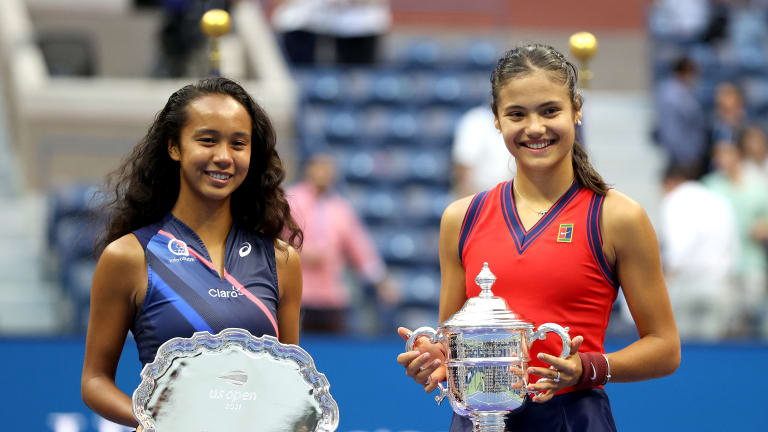 The two teens put on a show worthy of the magic they'd made throughout the tournament.