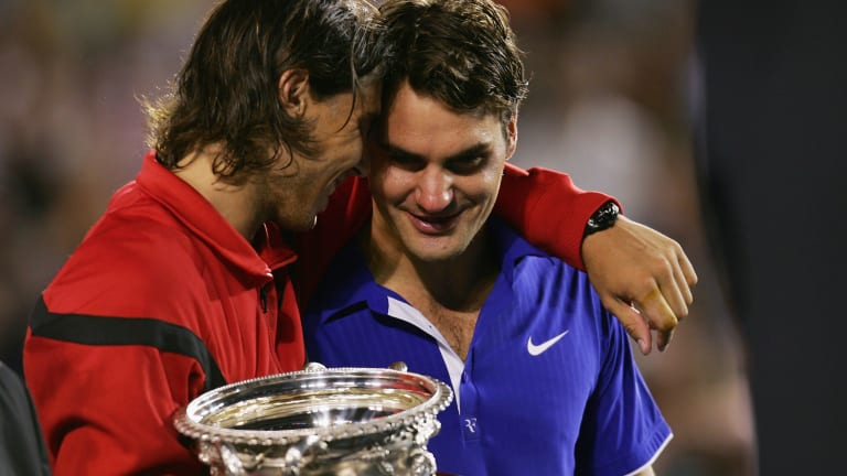 On The Line In 2021: Federer, Nadal and the Grand Slam race