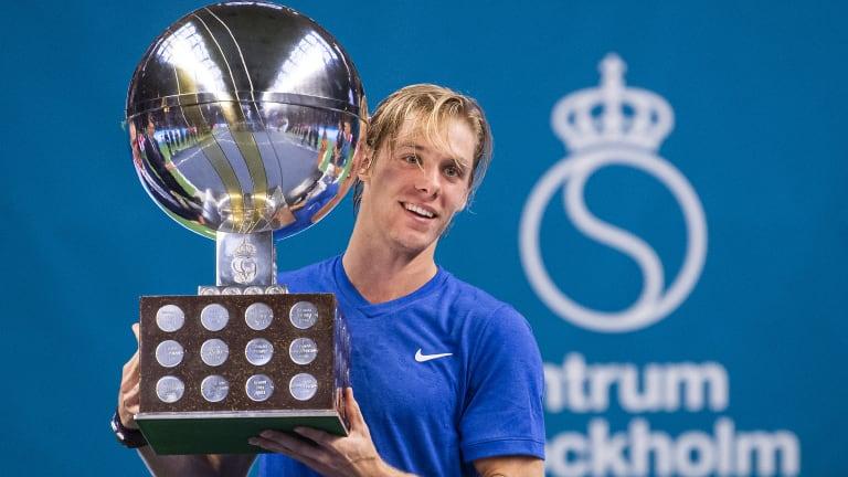 Denis Shapovalov captures maiden ATP title in Stockholm