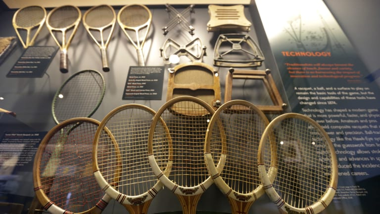 How historians view museums: Hall of Fame tells a tactile tennis tale