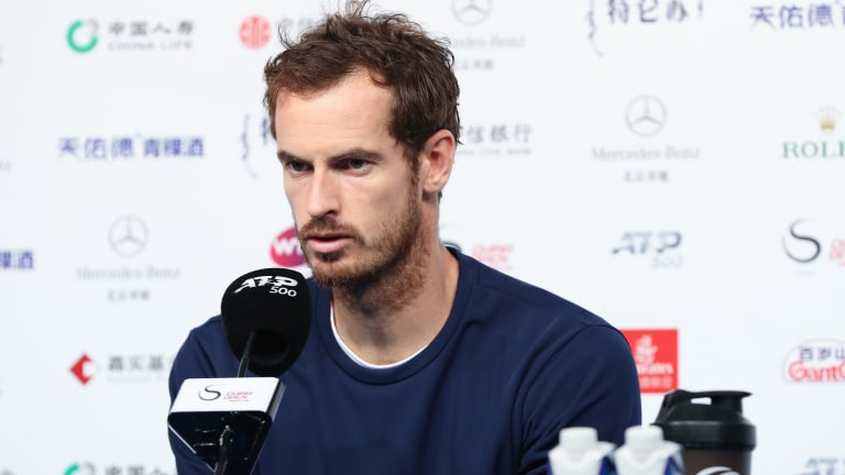 """""""Quite confident"""" with his movement, Andy Murray targets Top-20 level"""
