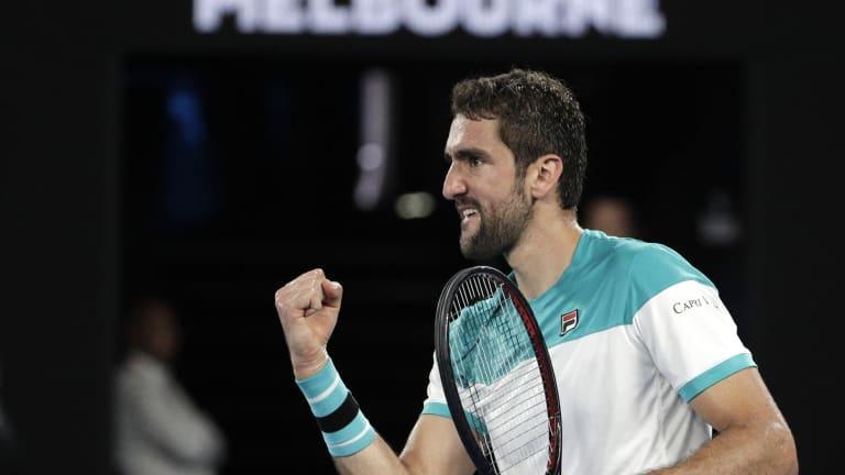How it happened: Federer outlasts Cilic for sixth Australian Open win