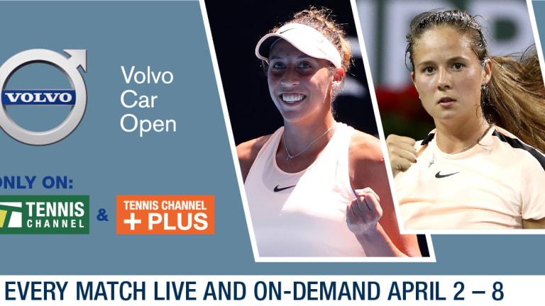 Sara Errani defeats Eugenie Bouchard in first round of Volvo Car Open