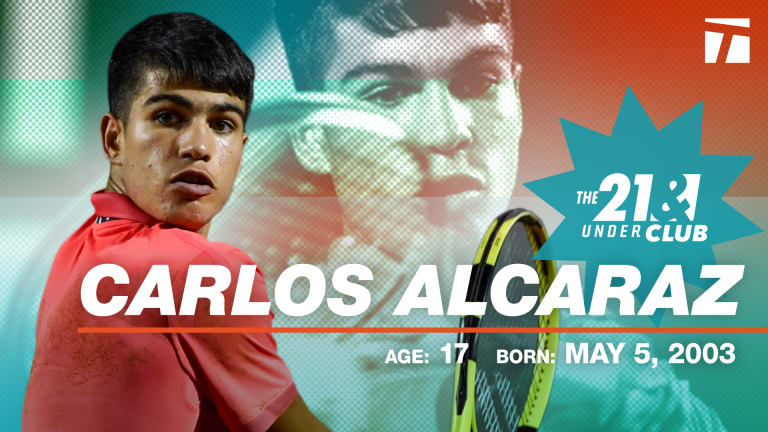 The 21 & Under Club, 2020 Edition: Carlos Alcaraz
