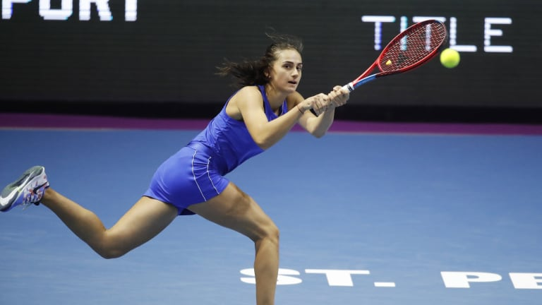Kuznetsova advances through dramatic day in St. Petersburg