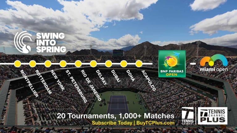 One of a Kind: The Indian Wells experience we're missing this week
