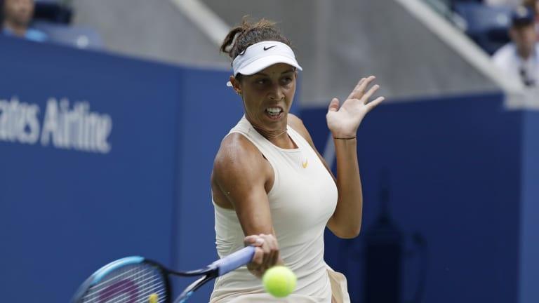 Seeking another Grand Slam final, Madison Keys rallies past Krunic