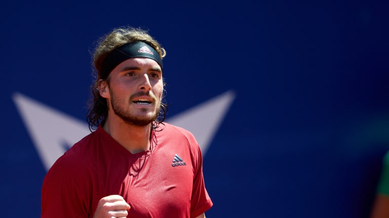 Tsitsipas is the No. 2 seed in Lyon.
