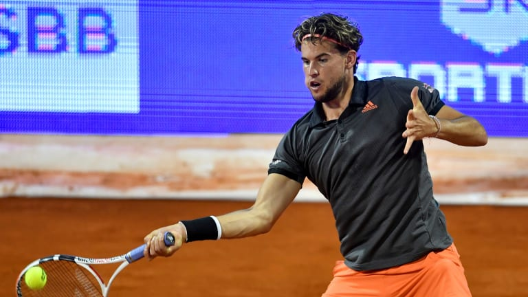 Thiem wins first leg of Adria Tour by going undefeated in Belgrade