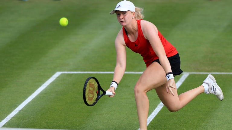 Jones owns two ITF World Tour $25k singles titles.