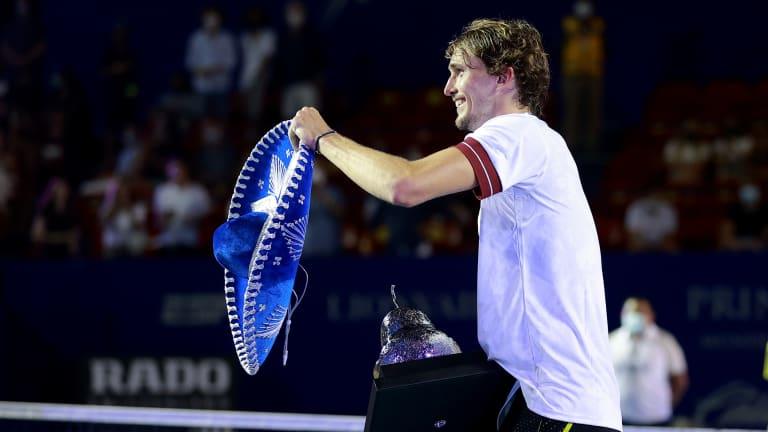 Weekend winners: Karatsev, Kasatkina, Zverev pick up trophies