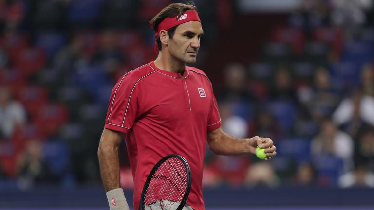 Federer begins Shanghai bid with straight-set win over Ramos-Vinolas