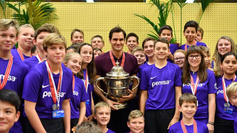 Roger Federer to begin hunt for 10th title in Basel against qualifier