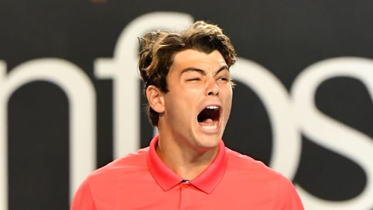 Down two sets and a break, Taylor Fritz fights back to stun Anderson