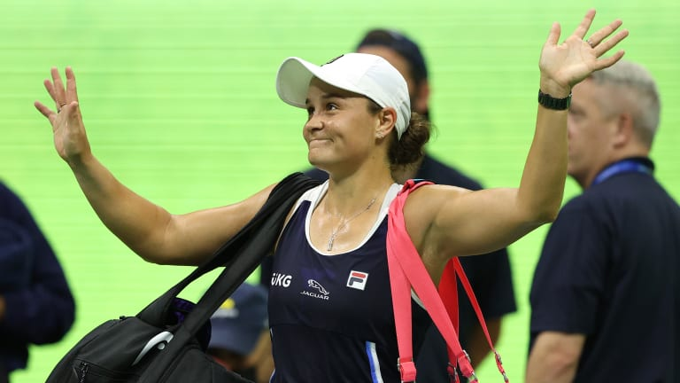 Barty fell in the third round of the US Open to American Shelby Rogers, having twice served for the match in the final set.