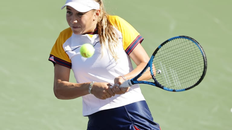 At Indian Wells, Amanda Anisimova returns to the site of her first WTA main-draw win.