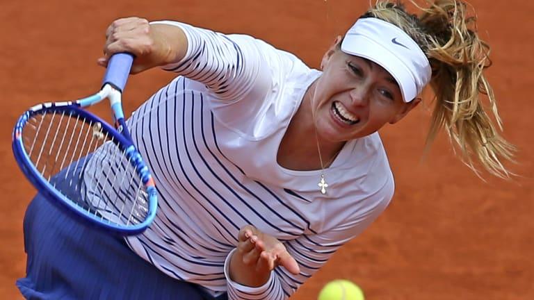 Sharapova talks ban, ITF and meldonium with Charlie Rose