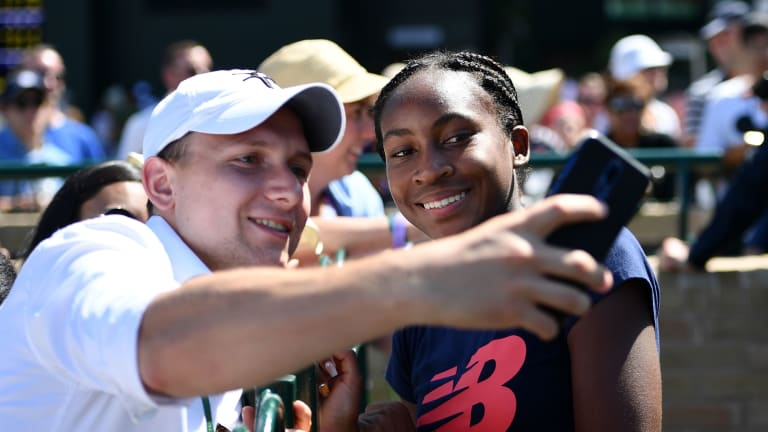 """From """"amazing"""" to the """"real deal"""": Cori Gauff touted by tennis peers"""