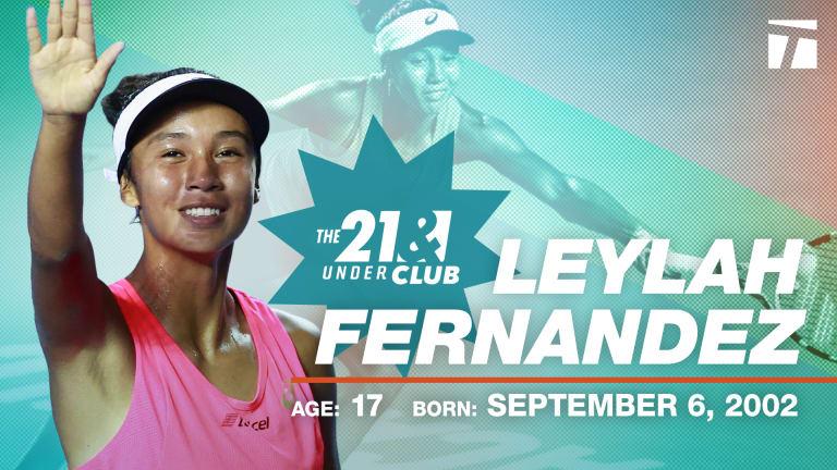 The 21 & Under Club, 2020 Edition: Leylah Fernandez