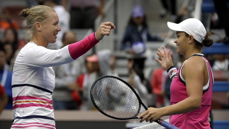 In decisive tiebreaker, Barty saves match point to reach Beijing final
