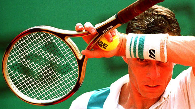 Ivan Lendl went on to coach the likes of Andy Murray and Alexander Zverev (Getty Images).
