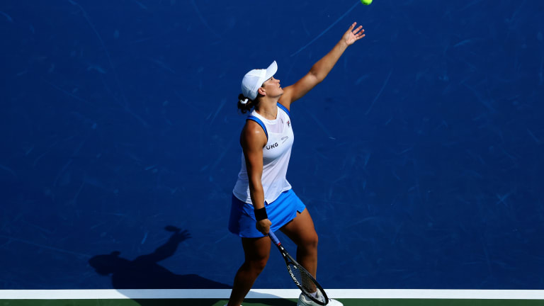 Barty is yet to drop a set this week, and is into her second Cincinnati semifinal.