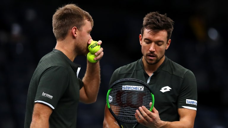 Doubles duo Krawietz and Mies out to keep dream season going in London
