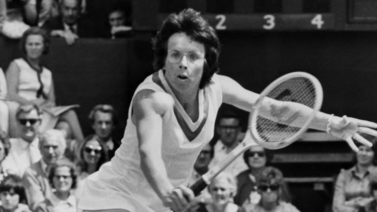 By going for it, a future that Billie Jean King imagined came to life