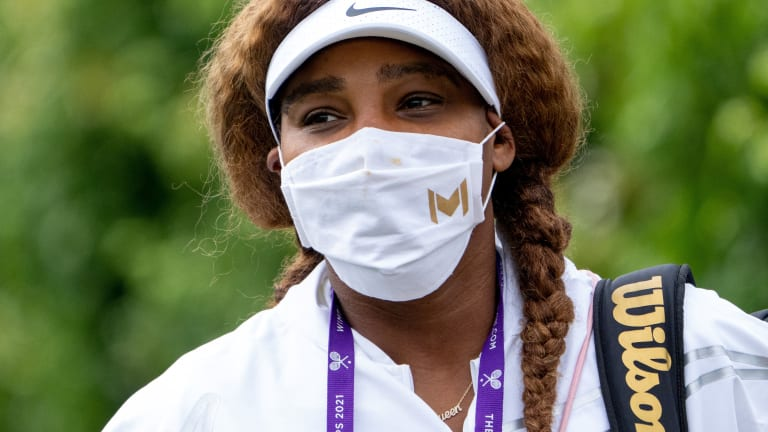 Serena has reached the final round in her last two Wimbledon's.