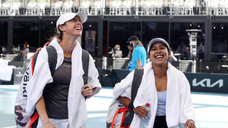 Top 5 Photos 2/25:  Swiatek walks into  Adelaide semifinals