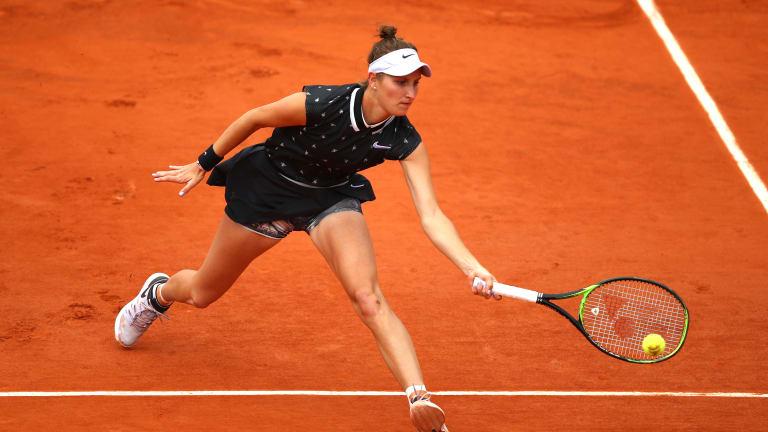 Vondrousova first teen to reach Roland Garros final since 2007