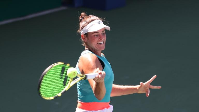 Jennifer Brady, ex-college star, graduates to US Open quarterfinals