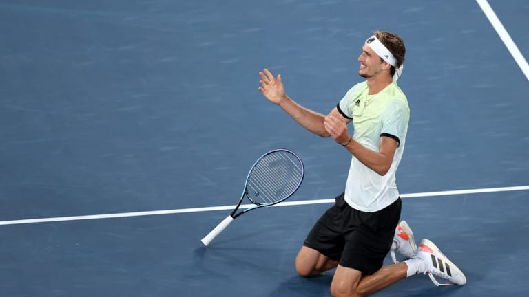 Zverev the player accomplished much this week, but the allegations of abuse made last year by his former girlfriend Olya Sharypova are also part of his story.