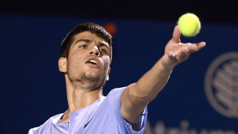 Already a threat on clay, Alcaraz has acquitted himself well on hard courts.