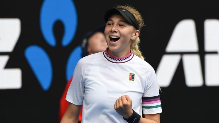 Amanda Anisimova, 17, played like a veteran in win over Sabalenka
