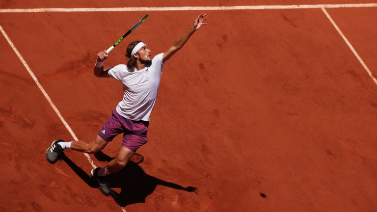 Tsitsipas became the first Greek player ever to reach a Grand Slam final at Roland Garros this year.