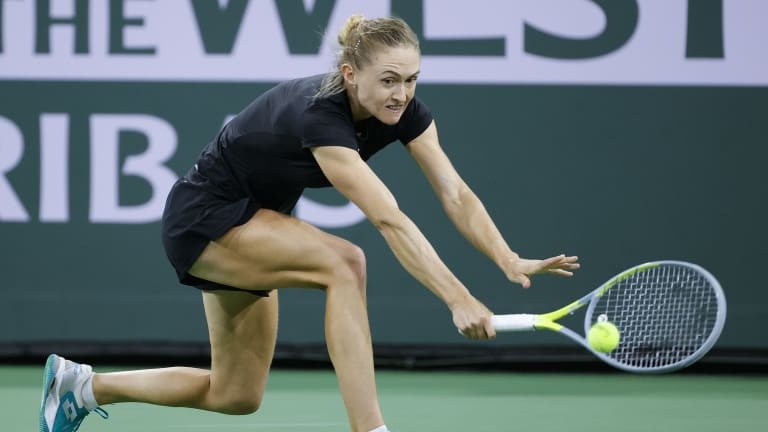 """""""It was a good, solid match from me. I did everything right and I'm happy with the result, of course,"""" said Sasnovich."""