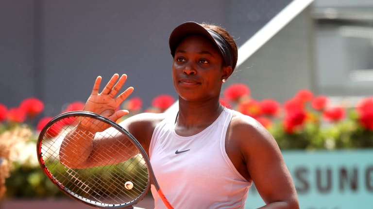 In Madrid, Stephens scores fourth consecutive win against Azarenka