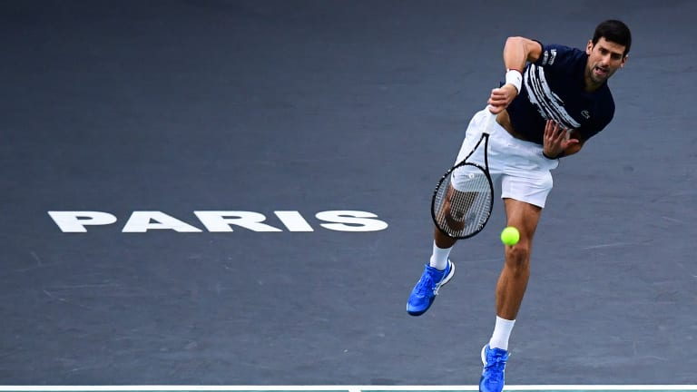 With his Paris triumph, Djokovic turns up heat in year-end No. 1 race
