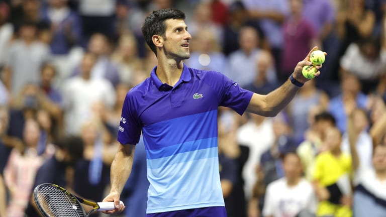 Djokovic not only broke the men's Open Era record for most career US Open finals this year, he tied the men's all-time record for most career Grand Slam finals.