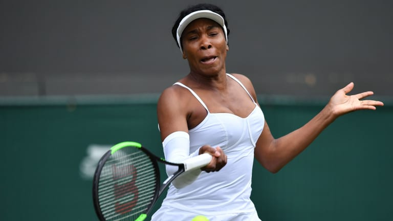 Like Murray, iconic former champion Venus Williams needed a wild card into Wimbledon. But  Mihaela Buzarnescu will try to make the most of her opportunity, as well.