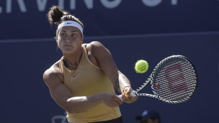Can Aryna Sabalenka battle past the burden of expectations?