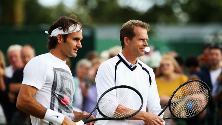 The Swede at Wimbledon: Stefan Edberg was smooth as silk on the lawns