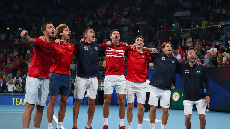 Djokovic and Serbia win first ATP Cup; Nadal sits out deciding doubles