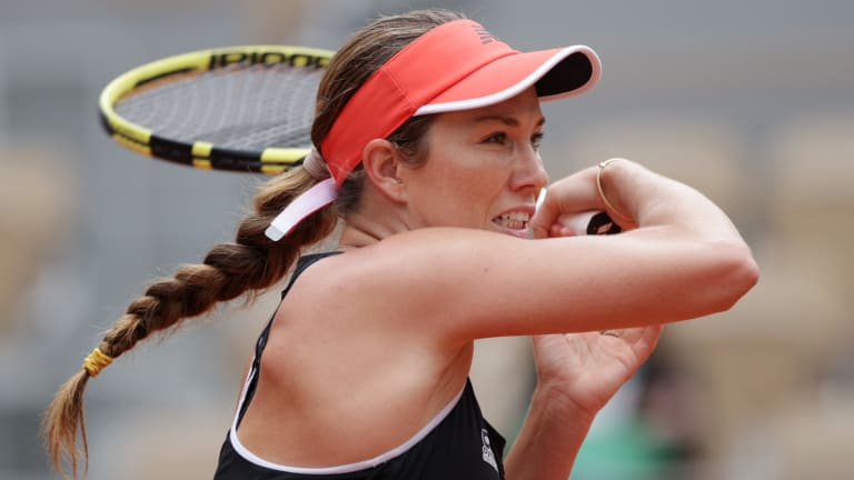 Collins had been to six WTA semifinals before this week, including one at a Grand Slam and one at a WTA 1000, but never to a WTA final.