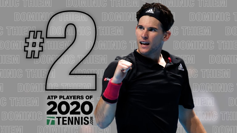 ATP Players of 2020, No. 2: Dominic Thiem